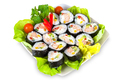 Decorated plate of sushi - PhotoDune Item for Sale