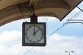 Analog clock on the train station - PhotoDune Item for Sale