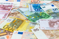 Background of euro banknotes - PhotoDune Item for Sale