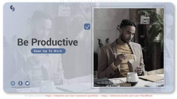 Be Productive. Life Balance Portfolio