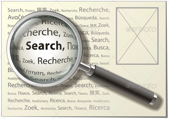 Magnifying Glass Graphics, Designs & Templates from