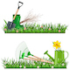 Vector Gardening Borders - GraphicRiver Item for Sale