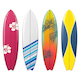 Vector Surfboard Icons Set 2 - GraphicRiver Item for Sale