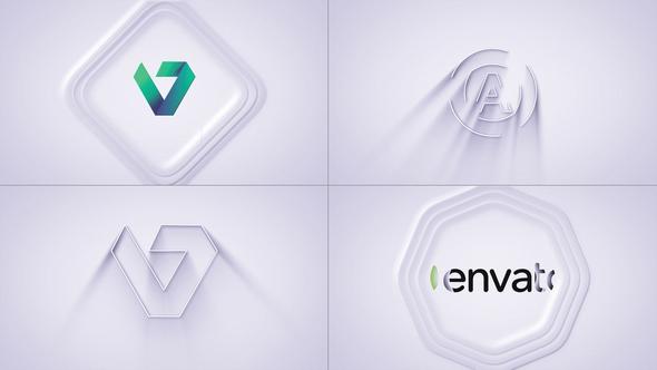 Simple 3D Logo Reveal