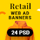 Retail Web Ad Banners - GraphicRiver Item for Sale