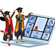Study Applicant Concept Vector Abroad - GraphicRiver Item for Sale