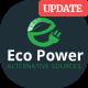 EcoPower - Alternative Power & Solar Energy Company - ThemeForest Item for Sale