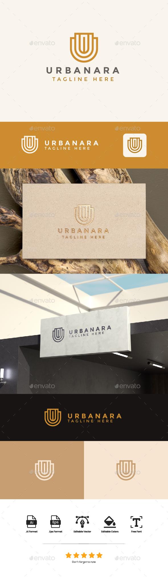 Logo Letter U - Urbanara