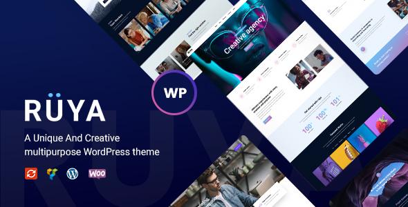 Ruya - Creative Multi-Purpose WordPress Theme