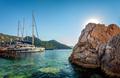 Beautiful View on Sailboat Harbor - PhotoDune Item for Sale