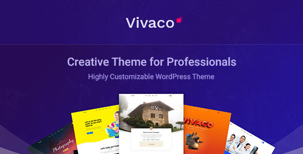 Vivaco   Multipurpose Creative WordPress Theme, Gobase64