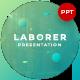 Laborer 3D Creative Presentation Template - GraphicRiver Item for Sale