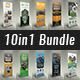 10in1 Roll Up Banner Bundle V01 - GraphicRiver Item for Sale