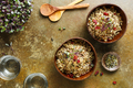 Two bowls of healthy quinoa pumpkin seeds - PhotoDune Item for Sale