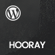 Hooray — Blog WordPress theme for Professional Writers - ThemeForest Item for Sale