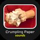 Crumpling Paper Sounds