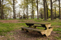 Picnic table with gorgeous view at public park - PhotoDune Item for Sale