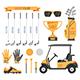 Golf club, golf - GraphicRiver Item for Sale