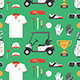 Seamless pattern with Golf game - GraphicRiver Item for Sale