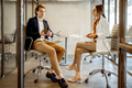 Business man and woman in the meeting room - PhotoDune Item for Sale