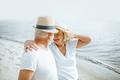 Senior couple on the beach - PhotoDune Item for Sale