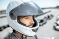 Portrait of a racer on the track - PhotoDune Item for Sale