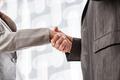 Business handshake closeup - PhotoDune Item for Sale
