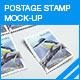 Postage Stamp Mock-up - GraphicRiver Item for Sale
