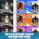 30 PSD Streetwear Instagram Feed - GraphicRiver Item for Sale