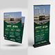 Hajj & Umrah Flyer + Rollup Banner Bundle - GraphicRiver Item for Sale
