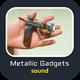 Metallic Gadget Operating Sounds