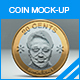 Coin Mock-up - GraphicRiver Item for Sale