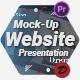 Website Presentation Mock-Up Promo - VideoHive Item for Sale