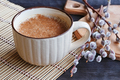 Cup of cappuccino with cinnamon - PhotoDune Item for Sale