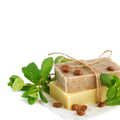 Natural handmade soap with fragrant herbs and coffee beans - PhotoDune Item for Sale