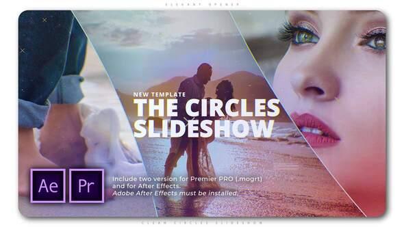 Clean Circles Slideshow