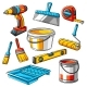 Repair Working Tools Set - GraphicRiver Item for Sale