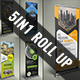 5in1 Business Roll up Banner Bundle V03 - GraphicRiver Item for Sale