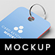 CARD KEYCHAIN MOCKUP - GraphicRiver Item for Sale