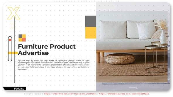 Furniture Product Advertise