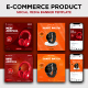 Ecommerce Product Social Media Post Promotional Design Template - GraphicRiver Item for Sale