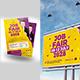Job Fair Flyer + Billboard Bundle - GraphicRiver Item for Sale