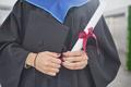 Woman holding diploma closeup - PhotoDune Item for Sale