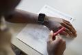 Student taking math test closeup - PhotoDune Item for Sale