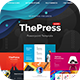 ThePress - Animated Powerpoint Template - GraphicRiver Item for Sale