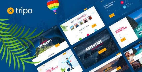 Tripo - Travel & Tourism Agencies WordPress Theme