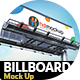 Billboard Mockup - 001 - GraphicRiver Item for Sale