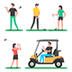 Golf player - GraphicRiver Item for Sale