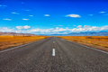 Road and blue cloudy sky - PhotoDune Item for Sale