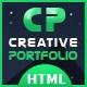 Creative Portfolio HTML Template - ThemeForest Item for Sale
